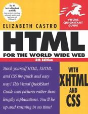 Visual QuickStart Guides: HTML for the World Wide Web with Xhtml and Css by Eli…