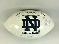 Notre Dame Fighting Irish Autograph Logo Football -Autograph Unknown 2010 Season