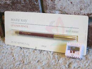 Mary Kay Lip Liner Pencil - Best Berry - New In Original Package + Sharpener