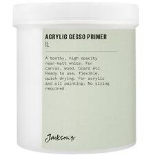 Jackson's : Acrylic Gesso Primer : 1 litre