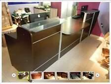 Bancone Reception Arredo Negozio Ufficio mobile con cassettiere