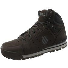 K-Swiss Norfolk Herren Sneakers braun/grau high-top Freizeitschuhe Boots NEU