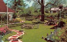 RUSTON, LA Louisiana  DREWETT GARDENS~Tulip Time  LINCOLN PARISH Chrome Postcard