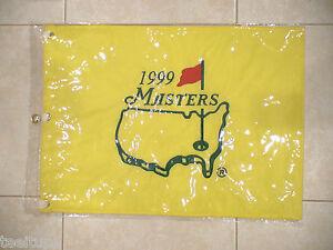 1999 MASTERS GOLF PIN FLAG AUGUSTA NATIONAL JOSE MARIA OLAZABAL RARE NICE PGA
