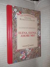 ELENA ELENA AMORE MIO Luciano De Crescenzo Mondadori Gli indimenticabili 1993 di
