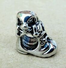 3D Cute Pet Puppy In Boot Bead European Charm for Dog Moms Animal Lovers Owners