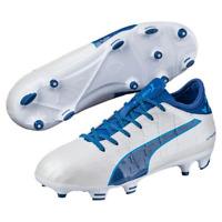 Puma Evotouch 3 Fg Jr 28-38.5 Enfants Chaussures de Football Firm Terrain Blanc