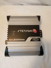 New listing Stetsom Audio Ex3000Eq Car Amp (Psl018972)