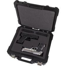 "Flambeau Double Wall Safe Shot Double Pistol Case 13.5"""