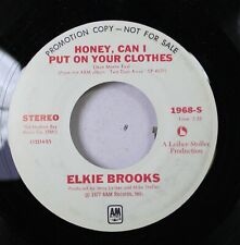 Soul Promo 45 Elkie Brooks - Honey,Can I Put On Your Clothes / Honey, Can I Put