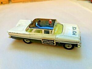 CORGI 481 CHEVROLET IMPALA POLICE PATROL CAR