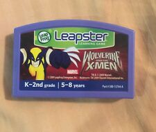 Leapster Leap Frog Wolverine And The X-Men Game Only Cartridge K-2 5-8 Tested