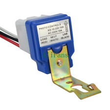 AC DC 220V 10A Auto On Off Photocell Street Light Photoswitch Sensor Switch