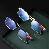 Glasses Progressive Multifocal Blue Light Blocking Presbyopia Eyeglasses