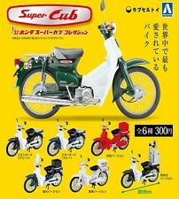 Honda Super Cub Collection Capsule Set ( 6 Motorcycles ) 1/32 Free Shipping