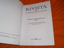 fond. europea dragan europa centro orientale oggi ciclo di conferenze 96-97 roma