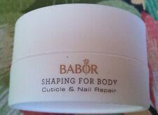 Babor Shaping for body Cuticle & Nail Repair 15 ml new NO BOX Free shipping USA