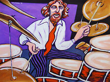 GINGER BAKER PAINTING drums blues cream disraeli gears cd wheels fire air force