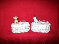 Ceramic Dog /cat /Urn Rock cremation/memorial/burial