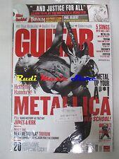 GUITAR WORLD Magazine SEALED Dic 2008 +cd Metallica Paul Gilbert Hetfield Hammet