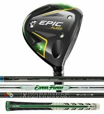 New 2019 Callaway Epic FLASH Fairway Wood - Pick a Loft, Flex, and Shaft