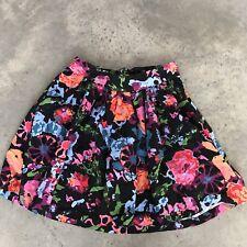 Thakoon for Target Floral Pleated A-Line Skirt BA7 SZ 3