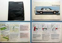 Volvo 740 Betriebsanleitung Bedienung Wartung 1990
