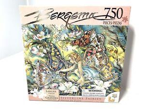 Rainbowline Fairies Jigsaw Puzzle Silverline Fairies Hadas Del Plata 750 Pieces