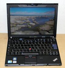 """Lenovo THINKPAD X201 12,5 """" Intel i7 M 620 2,40GHz 500GB HDD 6GB RAM"""