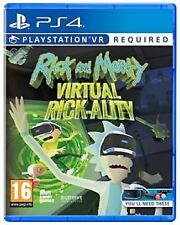 Rick and Morty Virtual Rick-ality Ps4 Game (psvr Required)