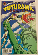 FUTURAMA COMICS #9 ~ BONGO COMICS 2002 ~ LELA! ZOIDBERG! BENDER! AND SO ON! VF