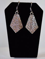 Base metal silver tone Hook Dangle Earrings Fashion Jewelry from India