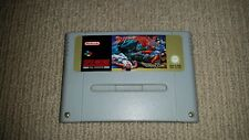 Street Fighter 2 Super Nintendo SNES Cartridge PAL, Cleaned & Tested