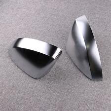 Paar Alu Matt Chrom Spiegel Abdeckung Spiegel Kappe For For AUDI A3 S3 8V 13-15