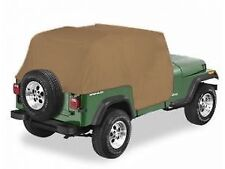 1992-2006 Jeep Wrangler Cab Trail Cabin Cover with Door Flap Spice