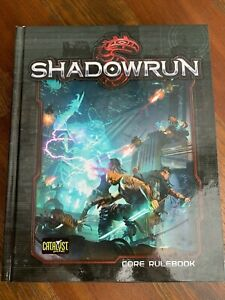 Shadowrun Core Rulebook Hardcover 5th Edition by Catalyst Game Labs (c) 2013