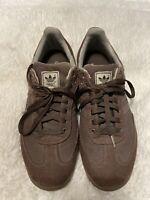 Rare Mens Adidas Hemp Samba Brown Indoor Soccer Sneakers Size Mens 11