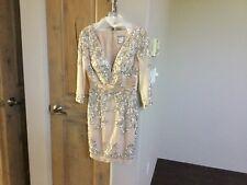 Sherri Hill Nude Cocktail Dress size 4