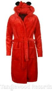 Minnie Mouse - embossed Minnie face all over - Ladies soft fleece Bathrobe