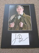 Jim Broadbent autograph - signed card - Harry Potter - Game Of Thrones