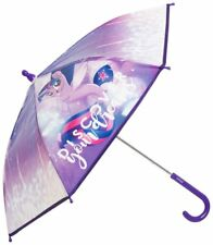 My Little Pony Umbrella Children's Kids Girls Purple Bubble Dome Travel Brolly