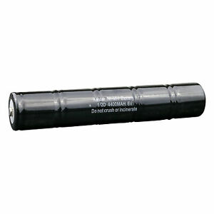 Rechargeable 1/2D 6V Ni-MH Battery for Maglite Flashlight ML5000 ARXX235 ARXX075