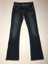 Express Womens Jeans Boot Size 4 Long Inseam 35 Stella Low Rise Med Wash NWT
