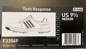 New Men's Adidas Size 9.5M Tech Response Golf Shoes Style #F33549