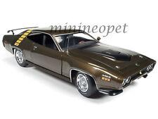 AUTOWORLD AMM1063 1971 71 PLYMOUTH ROADRUNNER 1/18 DIECAST MODEL CAR BRONZE