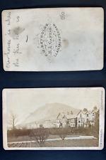 Reynolds, England, Llanfairfechan, house Vintage cdv albumen print CDV, tirage