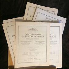 Jean Patéro quatre-vingts études-déchiffrage méthode partition flûte Leduc