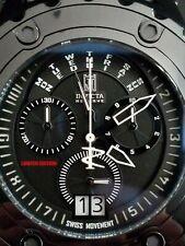 Invicta Reserve Jason Taylor LE Subaqua Specialty Swiss Mvnt Watch Combat Black