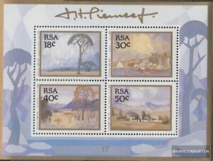 South Africa block23 (complete issue) fine used / cancelled 1989 Paintings