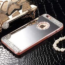 Handy Hülle Diamant Glitzer Strass Spiegel Schutz Case Für iPhone Samsung Galaxy